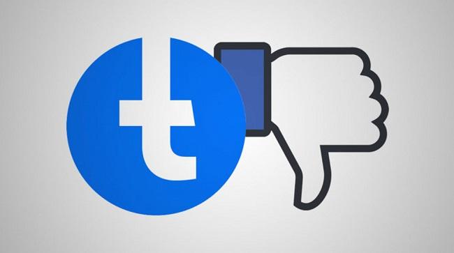 Facebook Thumb Down Image